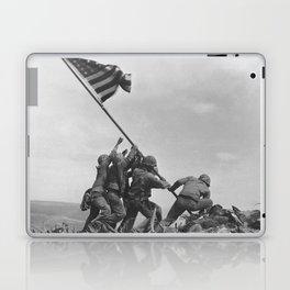 Iwo Jima Flag World War 2 Vintage Laptop & iPad Skin