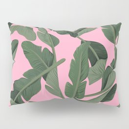Tropical '17 - Forest [Banana Leaves] Pillow Sham