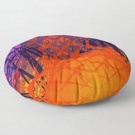 Abstract#1 Floor Pillow