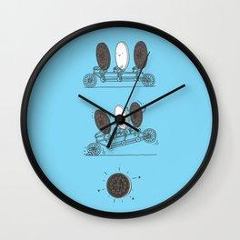 Accidentally Tasty Wall Clock