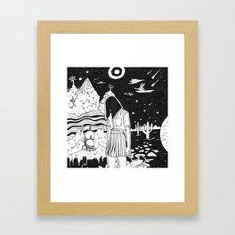 dunno Framed Art Print