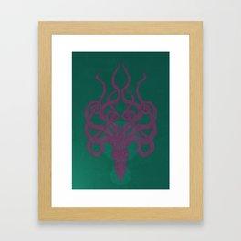 Jellykraken Framed Art Print