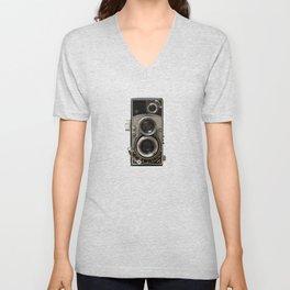 Vintage Camera 01 Unisex V-Neck