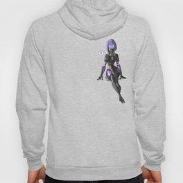 Tali Zorah from Mass Effect - Cute pinup Hoody