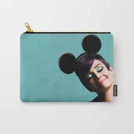 Audrey mouse pop art Carry-All Pouch