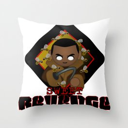 candyman Throw Pillow
