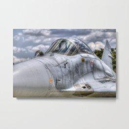 Mig-29 Jet Fighter Metal Print
