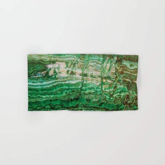 MINERAL BEAUTY - MALACHITE Hand & Bath Towel