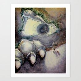 Fear Series - Scene 1: Girl Meets Fear Art Print