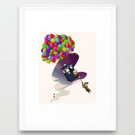 Alonz-Up! Framed Art Print