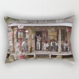 Vintage Country Store USA - Circa 1939 Rectangular Pillow