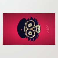 che Area & Throw Rugs featuring Che by mangulica illustrations