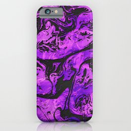 Abstract Ultra Violet Marble iPhone Case