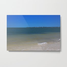 Deep Blue Eternity Metal Print