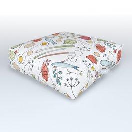 Midsummer Table Outdoor Floor Cushion