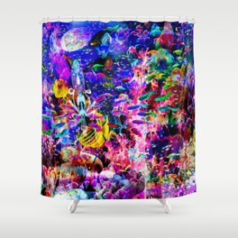 """""""Not Marine Chaos"""" by surrealpete Shower Curtain"""