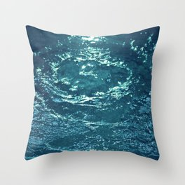 Gurgling Water Throw Pillow