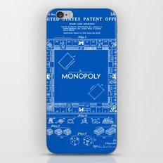 Monopoly Patent - Blueprint iPhone & iPod Skin