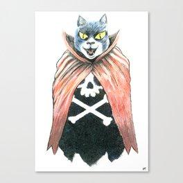 Cat Cape Canvas Print