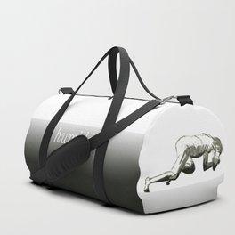 Humble: Figure Drawing Older Man Duffle Bag