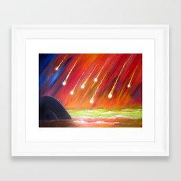 REIN OF FIRE Framed Art Print