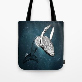the universe wall Tote Bag