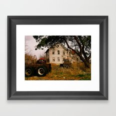 Ruins  Framed Art Print