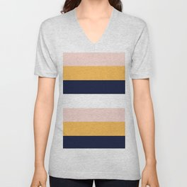 Color Stripe _004 Unisex V-Neck