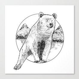 Nature Bear Canvas Print