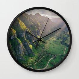 Jurassic Park Rays Wall Clock