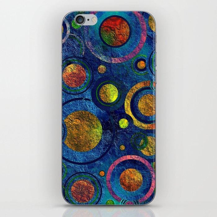 Full of Golden Dots - color variation iPhone Skin