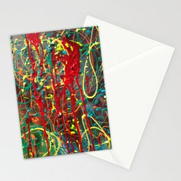 Red Mess Stationery Cards