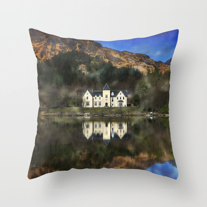 Loch Shiel Mk.2 Throw Pillow