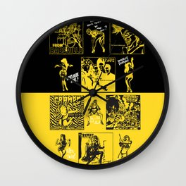 Cramps Style Wall Clock