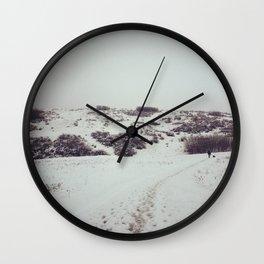 Snow Days in Calgary Wall Clock
