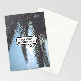 """Hipster"" Stationery Cards"