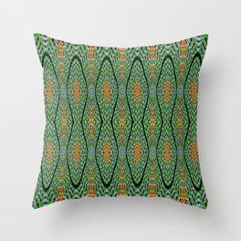 Greenrhythm, 2300v Throw Pillow