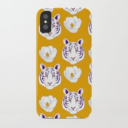 LSU yellow iPhone Case