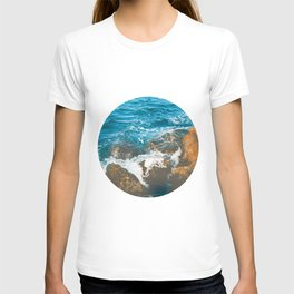 Rocky Ocean Shore No1 T-shirt