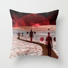road to... Throw Pillow