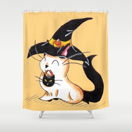 Salem Ghost Shower Curtain