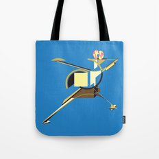 Space Ship Tote Bag