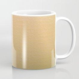 Imperfect Smooth VS Orange Peel Textures Minimalism Earth Tone Art - Corbin Henry Coffee Mug