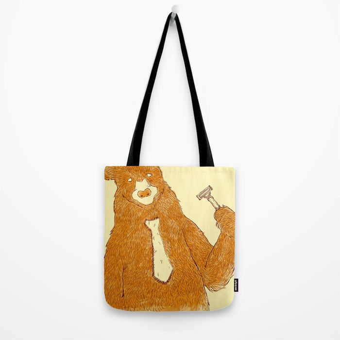 Office Bear Tote Bag