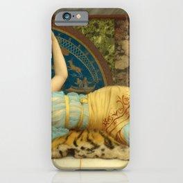 John William Godward - Dolce Far Niente iPhone Case