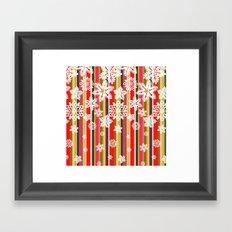 Flakes Framed Art Print