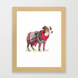 DogDays19 Thor Framed Art Print