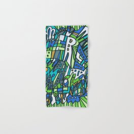 Feel This Real Forever (green) Hand & Bath Towel