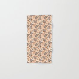 Opossum and Roses Hand & Bath Towel