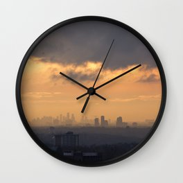 City Sky. Wall Clock